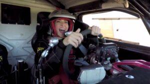 Kira Miró coche rally