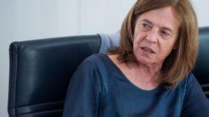 Margarida Marques, secretaria de Estado de Asuntos Europeos de Portugal