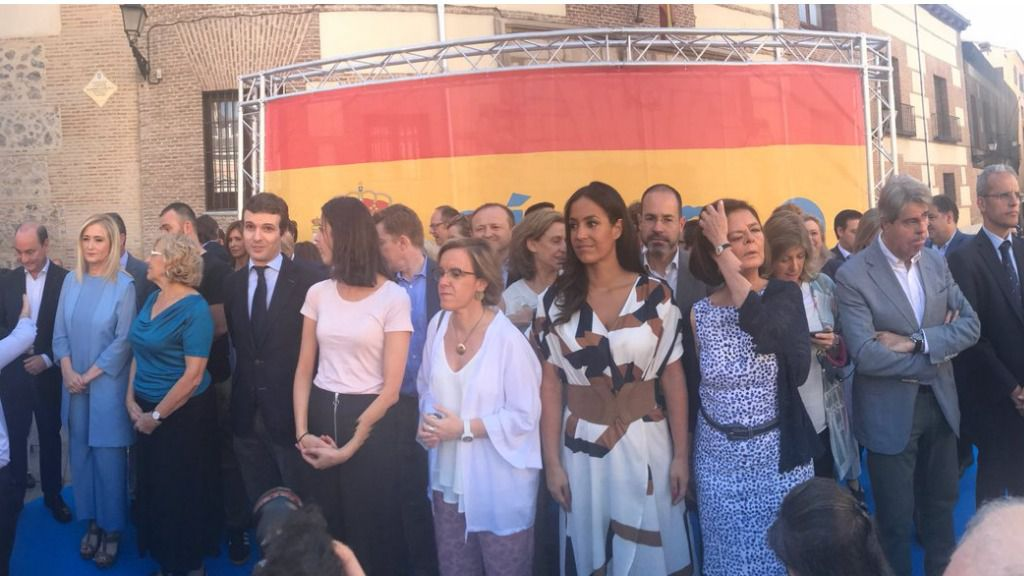 Acto de homenaje a Miguel Ángel Blanco.