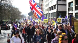Manifestacion Brexit