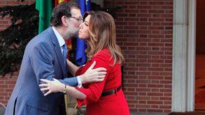 Mariano Rajoy y Susana Díaz