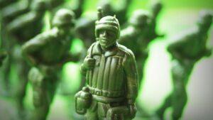 Soldados de plástico