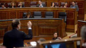 Mariano Rajoy Congreso de los diputados, podemos