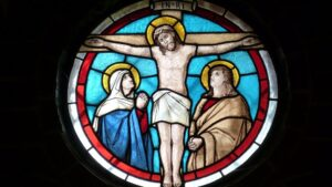 Iglesia vidriera jesus