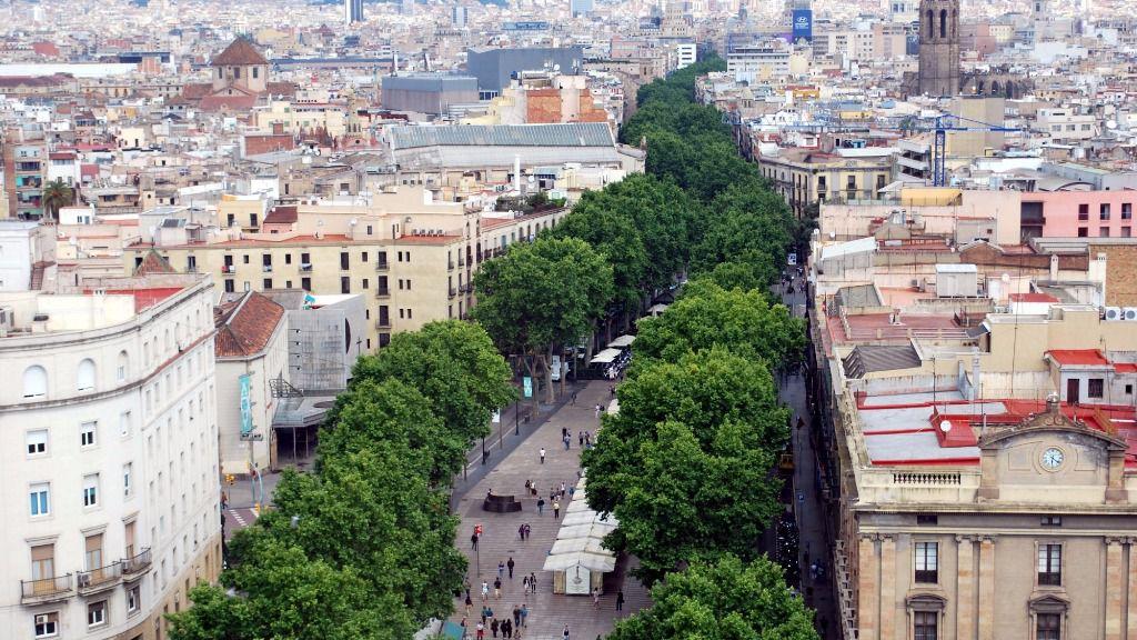 Las Ramblas, Barcelona