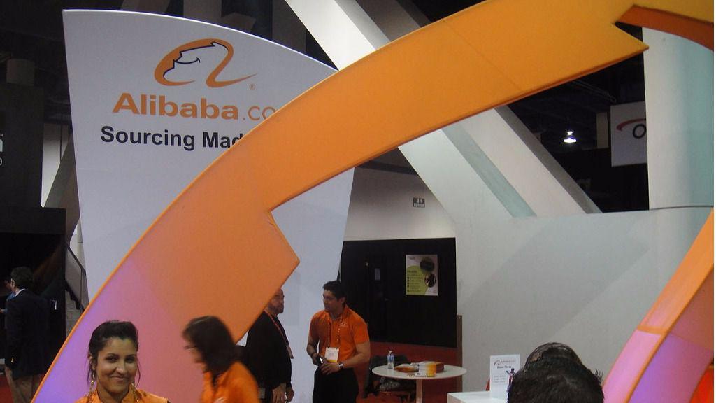 Stand de Alibaba