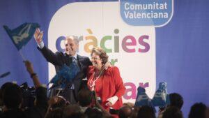 Rita Barberá y Francisco Camps