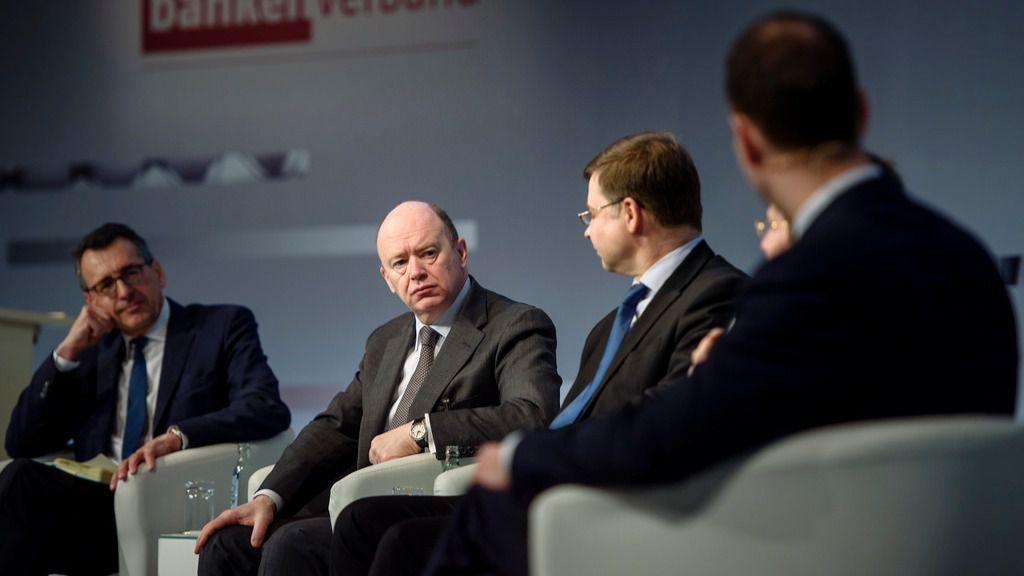 John Cryan, presidente ejecutivo del Deutsche Bank