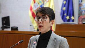 Violeta Barba, presidenta de las Cortes de Aragón
