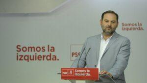 José Luis Ábalos, portavoz del PSOE en el Congreso