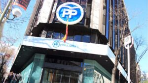 Sede del PP Partido Popular