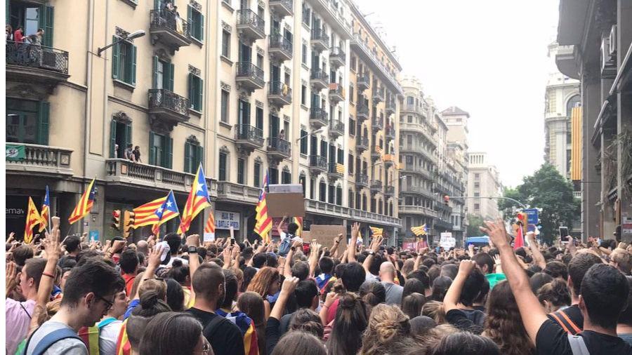 Concentraciones en Barcelona.