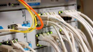 Conexión de fibra óptica