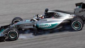 Coche de Lewis Hamilton