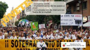 Cartel manifestación Murcia
