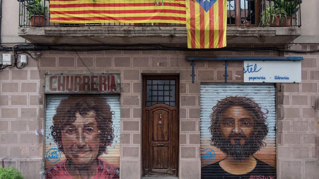 Barcelona esteladas cataluna