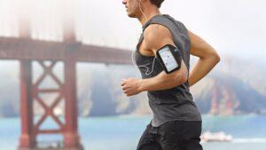 Runner con móvil