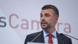 Santi Vila, exconsejero de Empresa y Conocimiento de la Generalidad de Cataluña