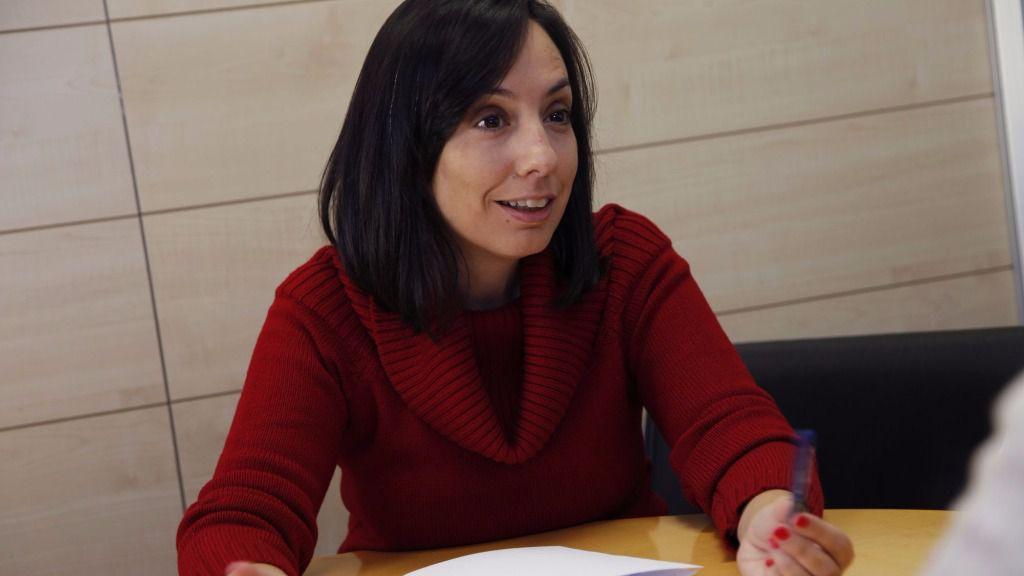 Mercedes González Fernández, concejala del Partido Socialista Obrero Español y Portavoz adjunta 1ª del Grupo