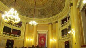Antiguo salón de sesiones del Senado de Madrid