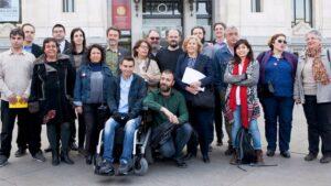 Equipo de gobierno municipal en Madrid.