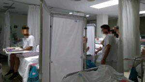 Imagen de los servicios de Urgencias de La Paz.