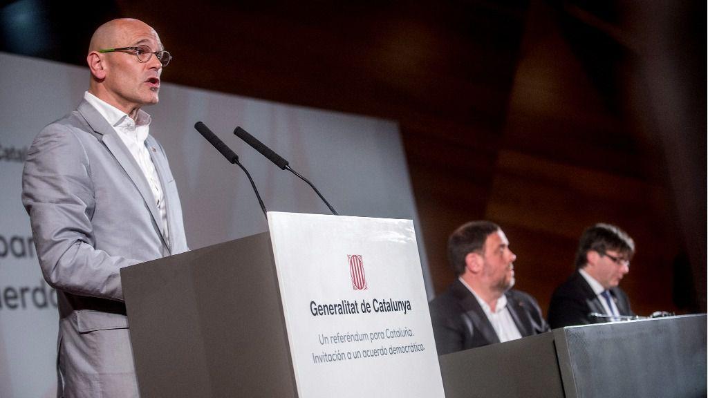 Raül Romeva, diputado del Parlamento Europeo
