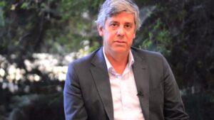 Mario Centeno, ministro de Finanzas de Portugal
