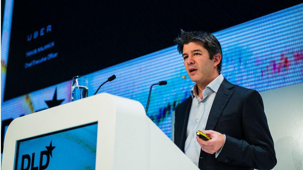 Travis Kalanick, CEO de Uber