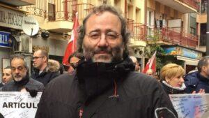Quique Villalobos, presidente de la FRAVM.