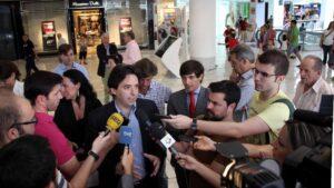 Percival Manglano, concejal del PP en el Ayuntamiento de Madrid
