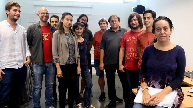 Grupo de Relatividad y Gravitación de la Universidad de las Islas Baleares (UIB) que ha participado en el hallazgo científico del año: ondas gravitacionales con luz