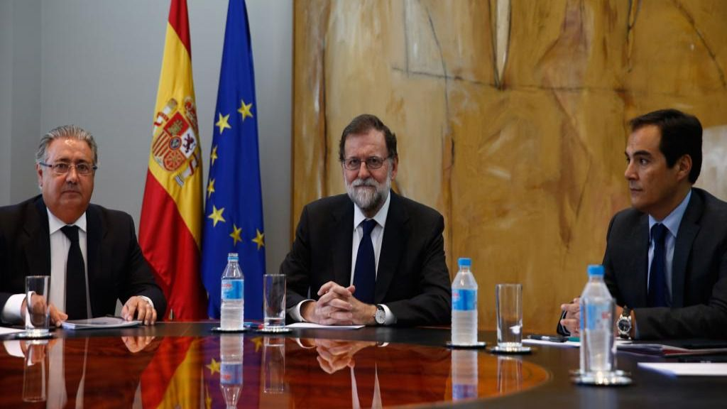 Mariano Rajoy, Juan Ignacio Zoido y José Antonio Nieto
