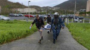 Ejército de EEUU en Virgin Islands.