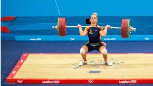 Lidia Valentín, deportista olímpica