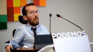 Pablo Echenique, secretario de Organización de Podemos