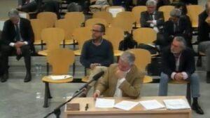 Correa, Crespo y Pérez en el juicio de la Gürtel.