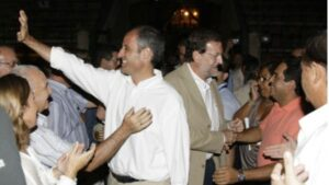 Mariano Rajoy y Francisco Camps