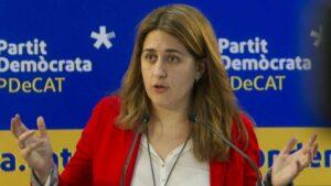 Marta Pascal, diputada autonómica y secretaria general del PDeCAT