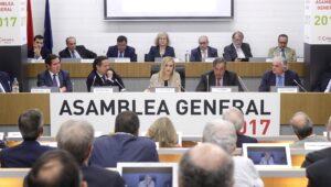 Cristina Cifuentes en la Asamblea de CEIM.