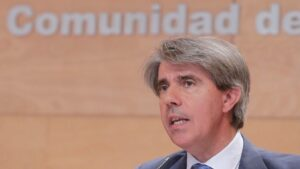Angel Garrido, portavoz del Gobierno de la Comunidad de Madrid