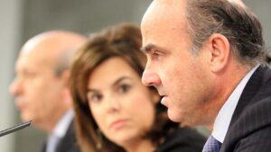 Luis de Guindos, ministro de Economía.
