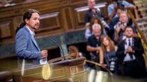 Pablo Iglesias, secretario general de Podemos