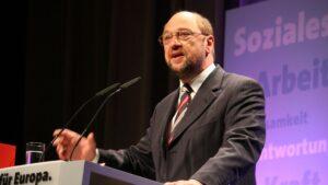 Martin Schulz, líder del SPD