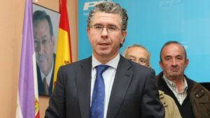 Francisco Granados, exconsejero de Presidencia, Justicia e Interior de la Comunidad de Madrid