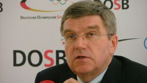 Thomas Bach, presidente del Comité Olímpico Internacional (COI)