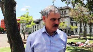 Juan Alberto Fuentes, presidente de Oxfam Intermón