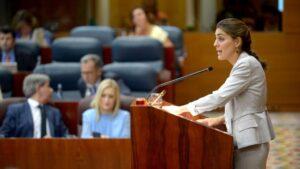 Lorena Ruiz-Huerta, diputada de Podemos en la Comunidad de Madrid