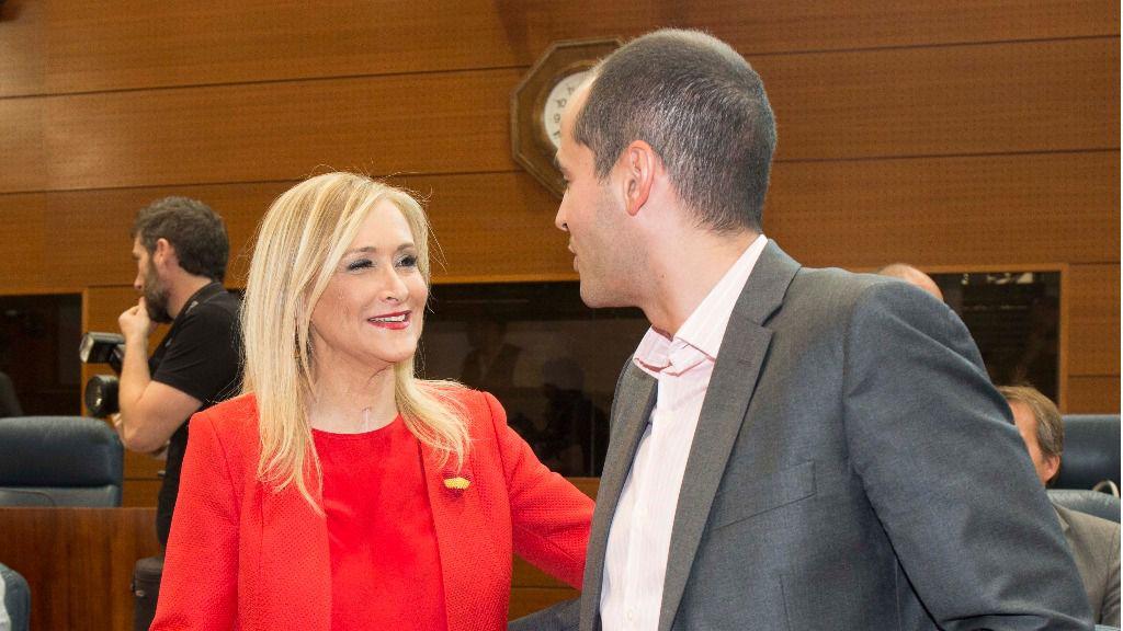 Cristina Cifuentes e Ignacio Aguado