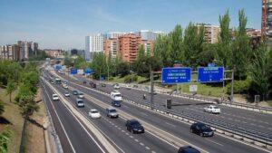 M-30 coches automoviles carretera